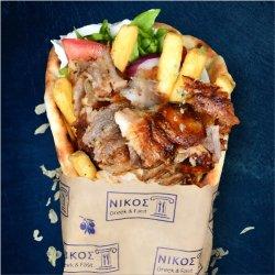 Pită  cu gyros porc image