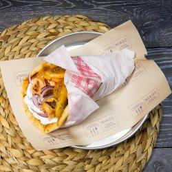 Pită  cu souvlaki de porc image