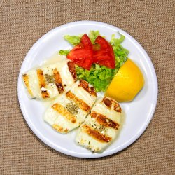 Brânză Halloumi la grătar image