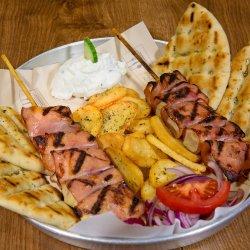 Ofertă meniu souvlaki pui cu bacon + Suc Gratuit image