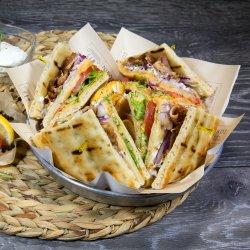 Sandwich Pita club porc image