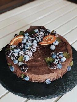 80014 - Tort Amandina (Produs Congelat) 1 Kg/ Amandina Cake image