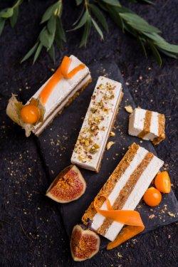 80005 - Tort cu morcov (Produs Congelat)/ Carrot cake image