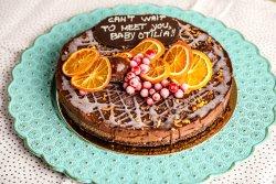 80022 - Tort Double Chocolate (Produs Congelat)/ Double chocolate cake image