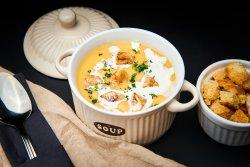 Cremă de pui/Chicken soup image