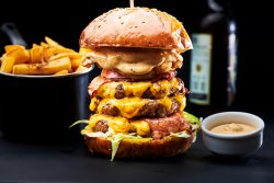 Empire State Building Burger image