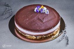 Tort ciocolată și lavandă la kg image