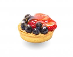 Minitartă cu fructe