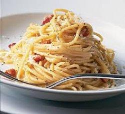 Spaghete Carbonara cu smântână image