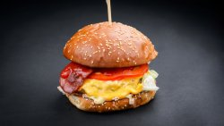 Baconais Crispy Burger image