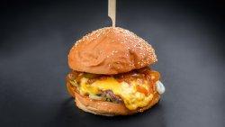 Beer bbq burger image