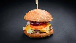Classic American Burger image