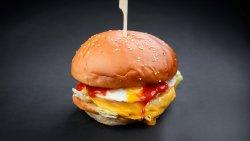 Golden Chicken Burger image