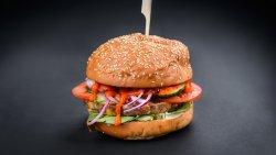 Happy Veggie Burger image