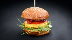 Red Spicy Burger image