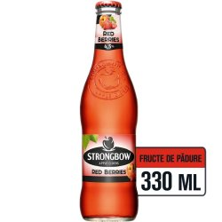 Cidru din mere Red Berries 0.33L Strongbow