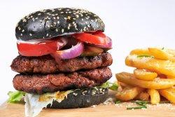 Meniu Burger Double Beef & Pancetta  image