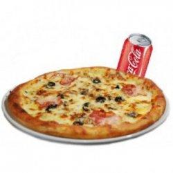 Pizza Tasty 1+1 Gratis 2 doze de suc image