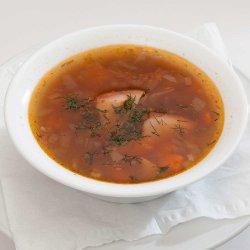 Ciorbă de fasole cu costiță/ Bean soup with ribs image