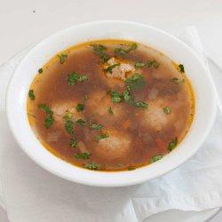 Ciorbă de perișoare/Meatball soup image