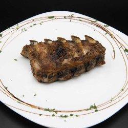 Coaste de porc la grătar/ Grilled pork ribs image