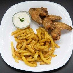 Meniu aripioare de pui/ Chicken wings menu image