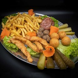 Platou cald 2 (4 persoane)/ Warm platter 2 (4 people)