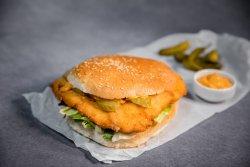 Wiener Schnitzel Burger image