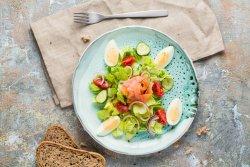 Salatăcu somon afumat image
