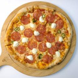 Pizza fiore e diavola  image