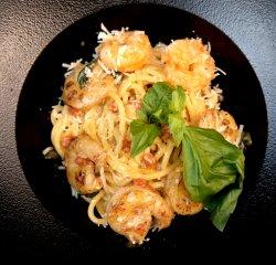 Spaghetti A.O.P. cu creveți  image