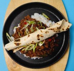 Chilli con carne cu orez alb image