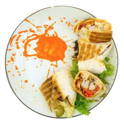 Cheese kebab image