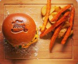 Burger porc gorgonzola + suc image