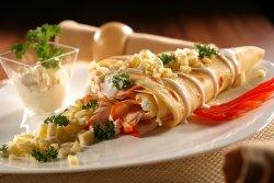 Pastrama de pui - smântână - cașcaval image