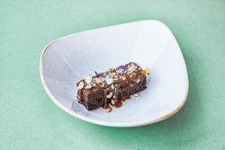 Brownies cu sos de caramel sărat image