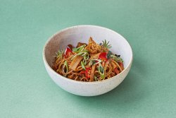 Spicy bamboo noodles image