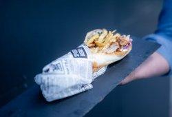Baghetă Sandwich cu porc image