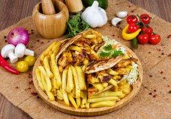 Meniu Shaorma pui arabic