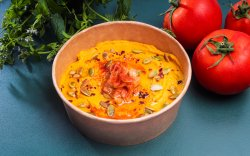 Hummus cu morcov copt / Hummus with baked carrot image