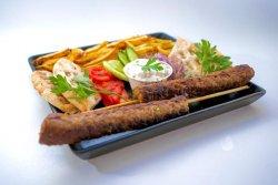 Greek Box kebab vită image