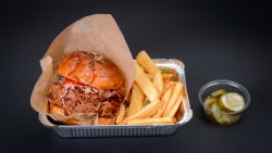 Smoked Pulled Pork Sandwich image