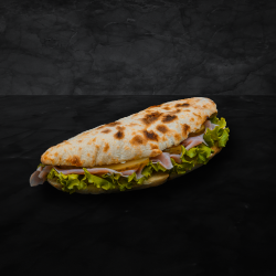 Sandwich cu prosciutto cotto image