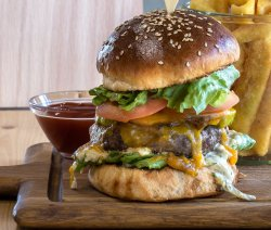 Burger clasic image