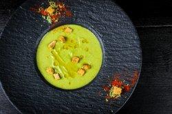Supa crema de broccoli cu gorgonzola image