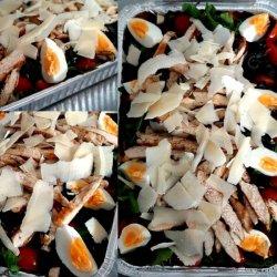 Platou salată de pui