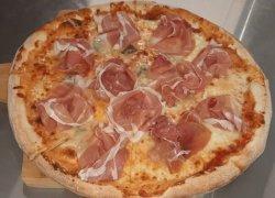 Pizza Crudo gorgonzola mică