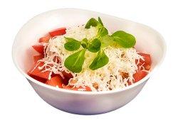 Salată de roșii cu telemea  image