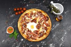Pizza casei + Fuzetea 500 ml