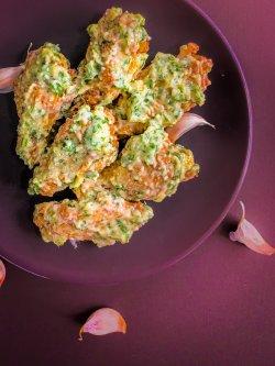 5 x Garlic Parmesan Wings + Potato Wedges image
